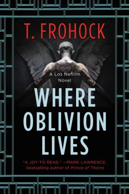 Cover art for Where Oblivion Lives by Teresa Frohock