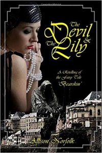 Cover art for The Devil & The lilly by Allison Norfolk